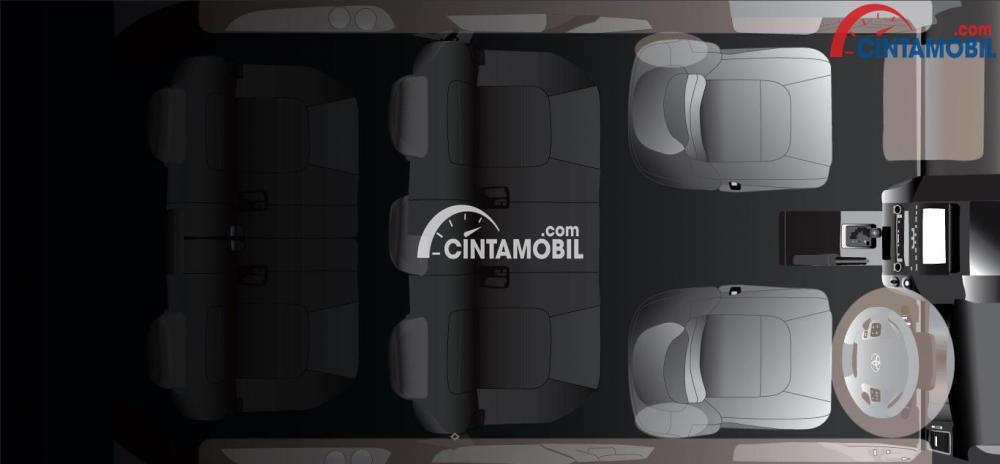 Hadirnya 6 buah Protective SRS Airbags dan 7 buah sabuk pengaman menjadi salah satu fitur Toyota Rush 2018