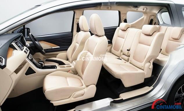 Kursi Mitsubishi Xpander dilengkapi dengan beragam fitur pelipatan kursi