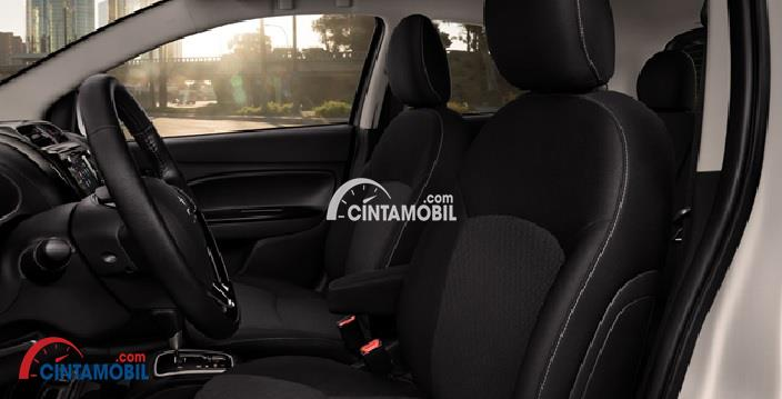 Gambar bagian Interior mobil Mitsubishi Mirage