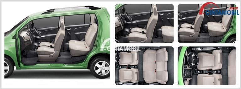 Gambar bagian kursi mobil Suzuki Karimun Wagon R GS 2017