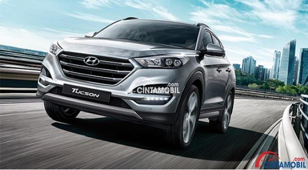 Tampilan eksterior Hyundai Tucson memprioritaskan tampil SUV yang lebih revolusioner dan agresif