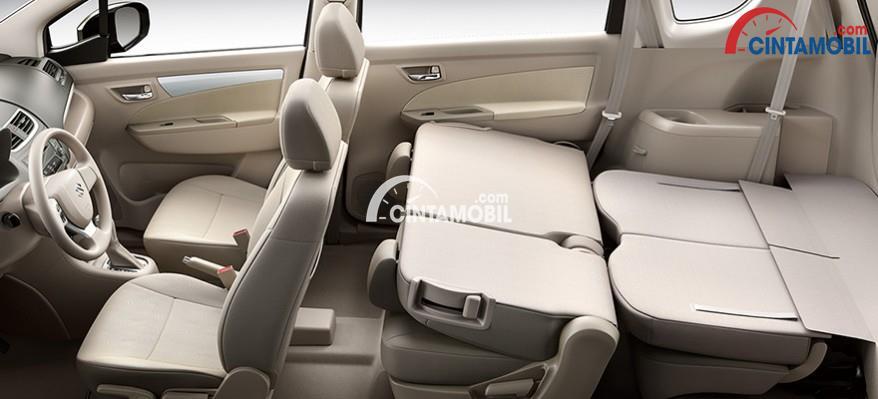 gambar bagian kursi mobil Suzuki Ertiga Diesel Hybrid 2017