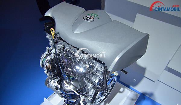 Spesifikasi mesin Toyota Yaris 2018 mempercayakan teknologi Dual VVT-I sebagai pendongkrak dapur pacunya