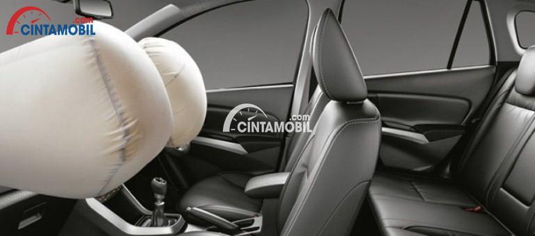 Fitur airbag di bagina depan mobil Suzuki SX4 S-Cross 2017