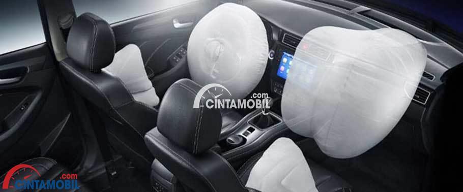 gambar fitur airbag di mobil DFSK Sokon Glory 580 2017