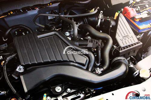 Gambar bagian mesin mobil Toyota Calya yang Berkapasitas Cukup
