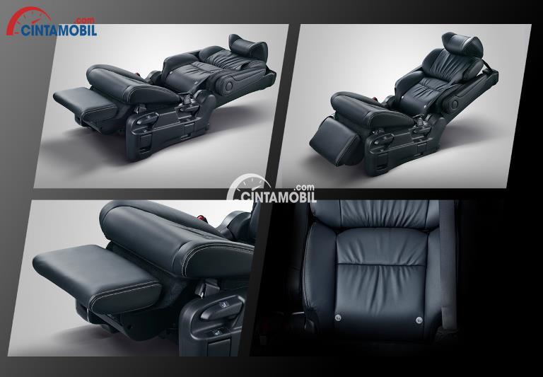 Gambar bagian kursi mobil Honda Odyssey 2018