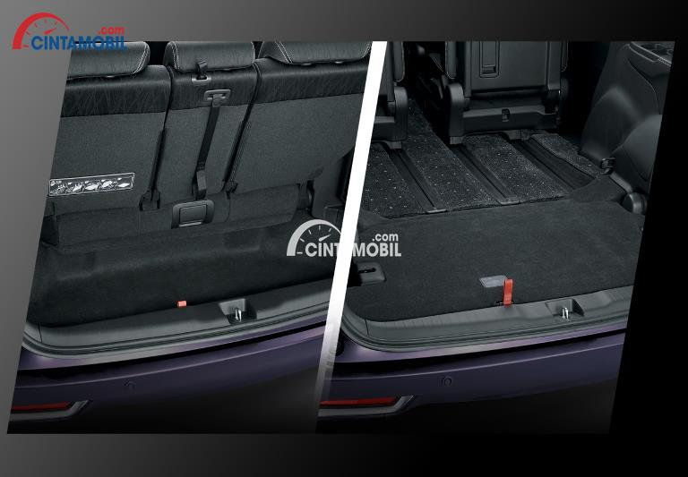 Gambar ruang bagasi mobil Honda Odyssey 2018