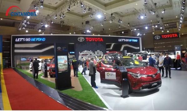 Ada TAF Di Booth Toyota IIMS 2018 Dengan Tawaran Special, Punya Mobil Makin Mudah