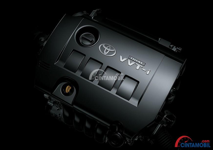 Gambar bagian mesin mobil Toyota C-HR 2018