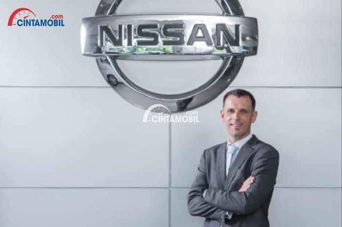 Gambar yang menunjukan Alan Caugant, yang menjadi Vice President Sales Nissan yang baru