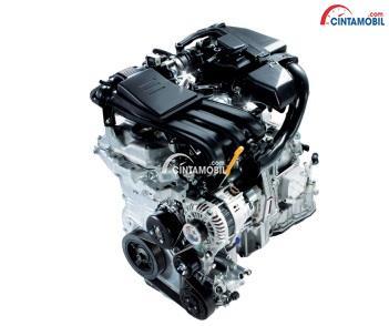 Mesin mobil Datsun GO+ dengan kapasitas cukup mumpuni
