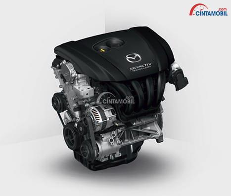 Mesin Mazda3 Speed 2018 menggunakan mesin 2.0 Liter SKYACTIV-G