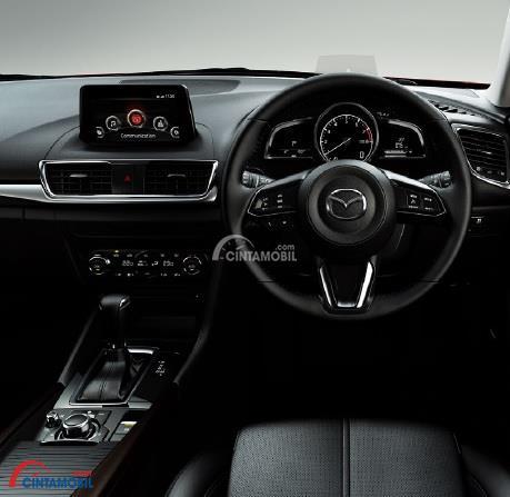Dashboard Mazda3 Speed 2018 dibekali fitur menarik