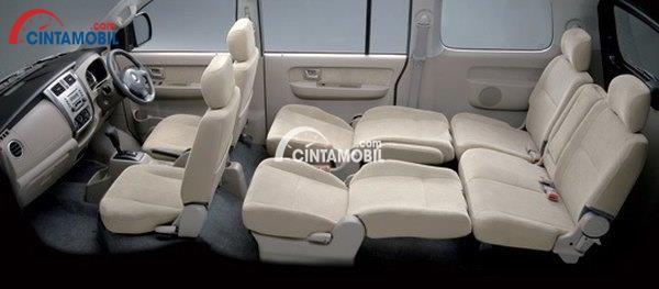 gambar susunan kursi Suzuki APV Luxury 2014
