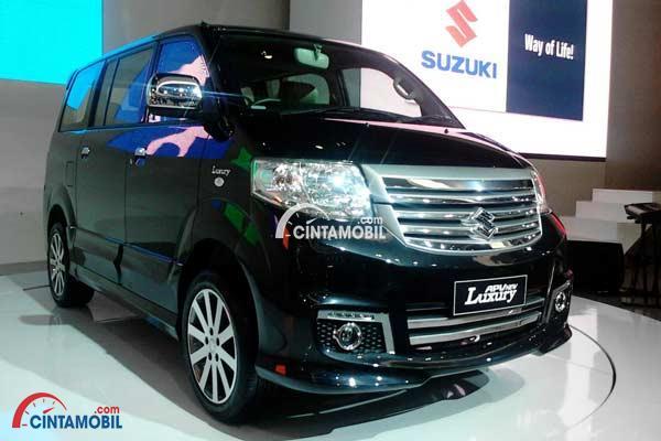 gambar Suzuki APV Lluxury 2014 di ajang IIMS 2014