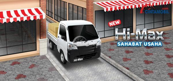 Performa Daihatsu Hi-Max mampu melewati jalanan sempit