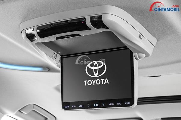 Fitur Penunjang Kenyamanan Toyota Alphard Hybrid 2015