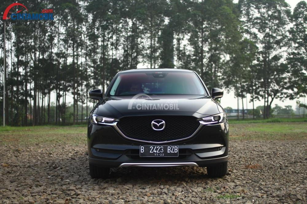 Fascia Depan All New Mazda CX-5 Elite 2017 Mengisyaratkan