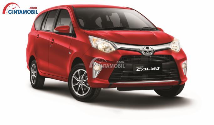 Tampilan depan Toyota Calya 1.5G MT mulai terasa butuh penyegaran