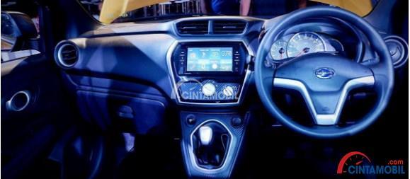 Head unit Datsun GO+ Panca 1.2 T-Style MT sekarang sudah touchscreen
