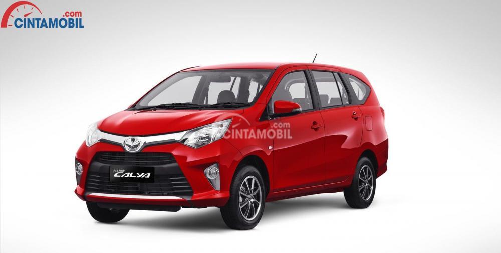 Toyota Calya 1.2G MT berwarna merah