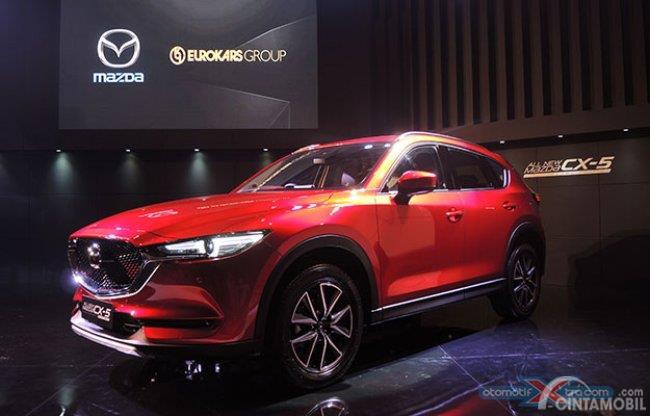 Mazda CX-5 Anniversary Edition menghadirkan fitur terlengkap daripada varian lainnya