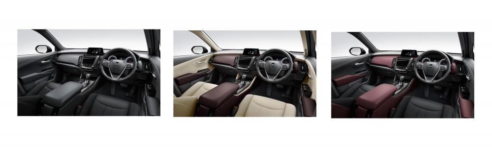 Interior Toyota Crown 2018 opsi warna kabin