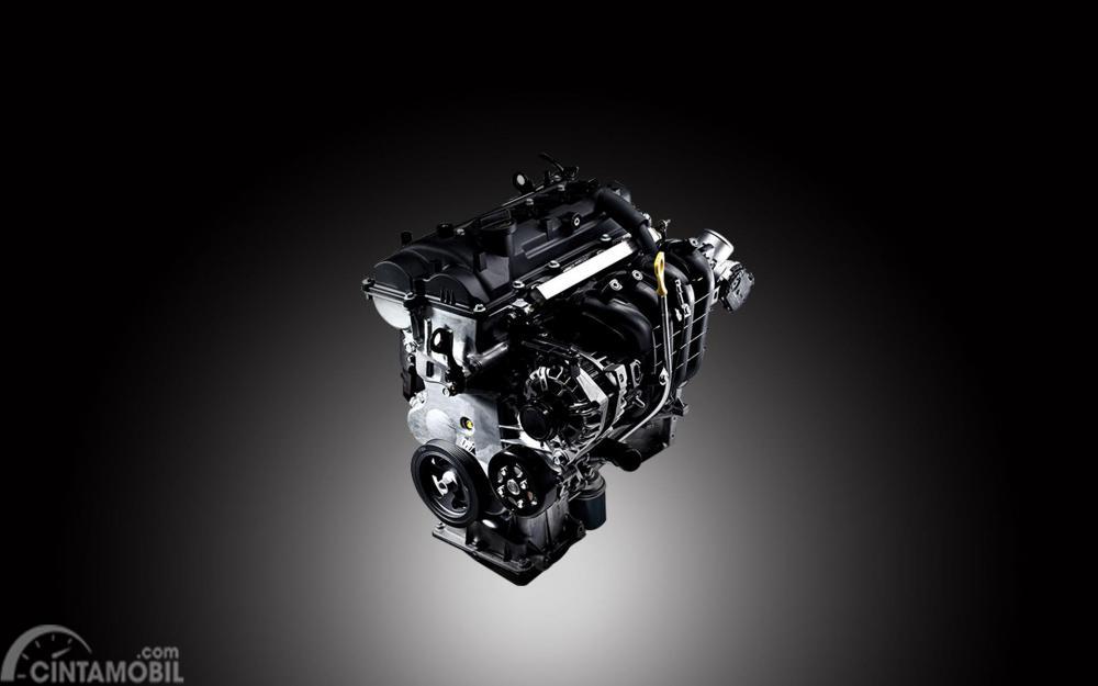 Mesin KIA Picanto mampu menyemburkan daya puncak 87 PS setara 6.000 Rpm