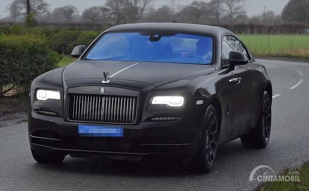 Gambar yang menunjukan mobil baru milik Paul Pogba dari Prancis
