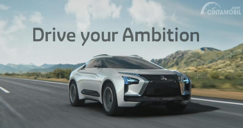 Gambar Tagline Mitsubishi global yang baru