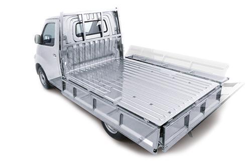 Kapasitas Box Daihatsu Gran Max Pick Up 2007 memiliki dimensi panjang 2.350 mm dan lebar 1.585 mm