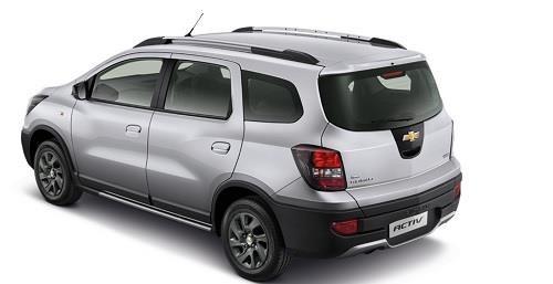 Chevrolet Spin Activ 2014 Dengan Bumper Belakang Sporty