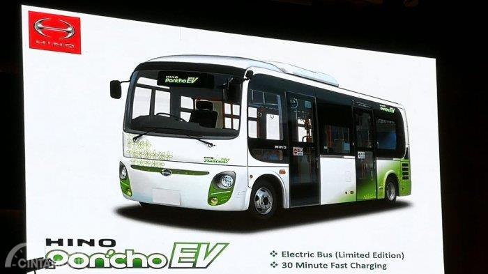 GIIAS 2018: Bus Listrik Hino Poncho EV Bakal Hadir Menemani Model Hino Yang Lain