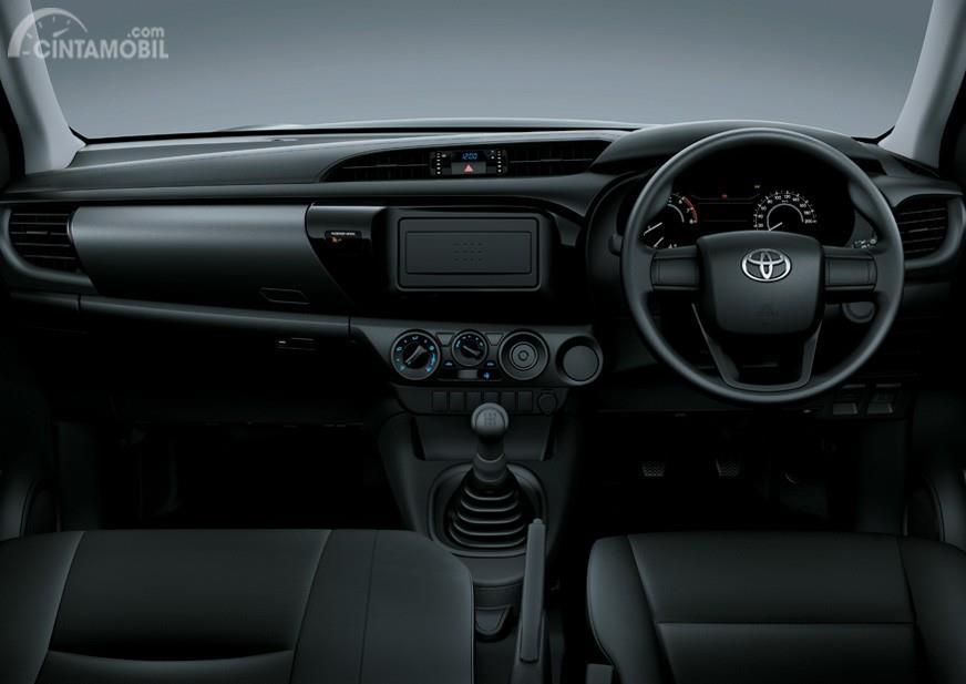 Toyota Hilux 2017 Single Cabin Memiliki Dasbor Yang Sangat Standar