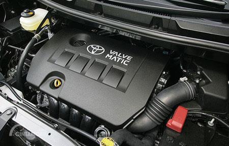 Mesin Toyota Voxy dipadukan dengan transmisi CVT sehingga mampu menghasilkan daya maksimum 152 PS