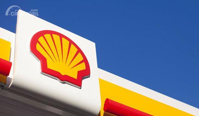 Gambar yang menunjukan logo dari perusahaan Shell