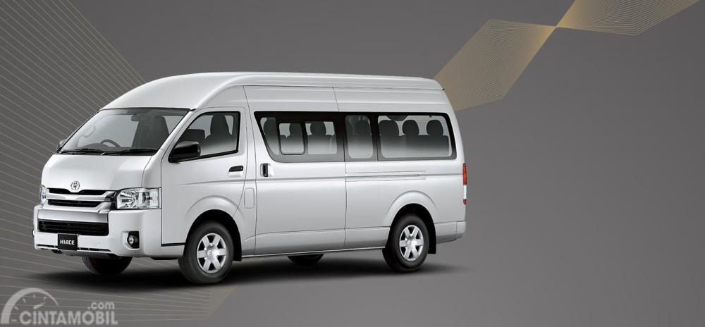 Tampilan Toyota Hi-Ace generasi terbaru yang dikemas cukup modern