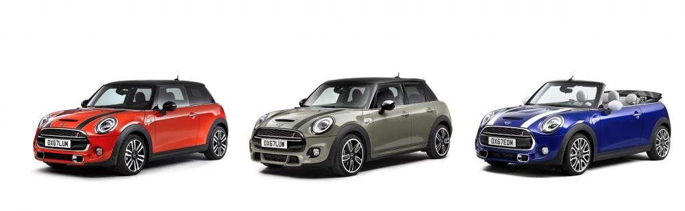 MINI 3 Doors, MINI 5 Doors, MINI Convertible