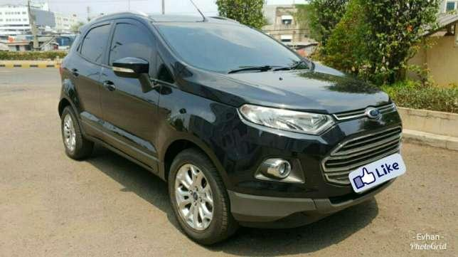 ford ecosport titanium at hitam facelift dashboard black piano 2014 dijual