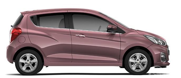 Chevrolet Spark 2018 Memiliki Desain Single ARC Rooflilne Disampingnya