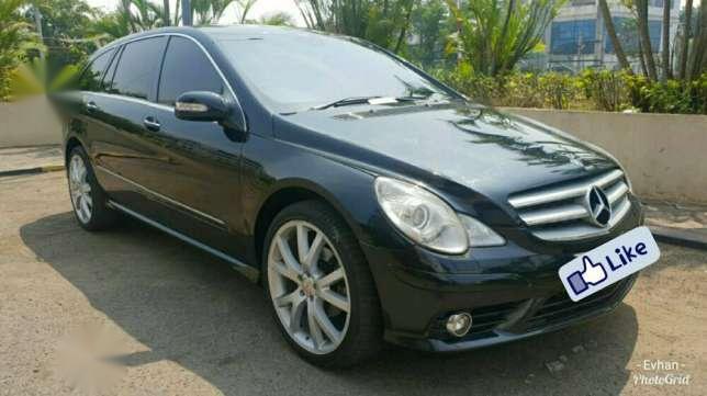 mercedes-benz r280 rse long atpm 3.0 v6 gasoline black on beige 2008 dijual
