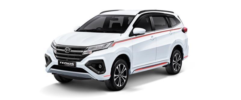 Daihatsu Terios R Custom diperkenalkan pertama kali di ajang GIIAS 2018