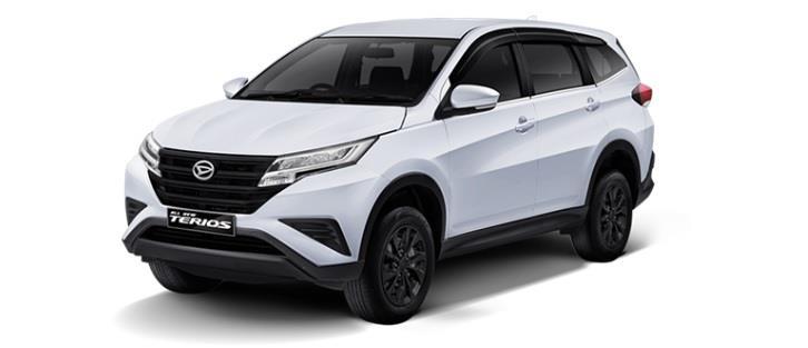 Daihatsu Terios X dibanderol dengan harga yang kompetitif