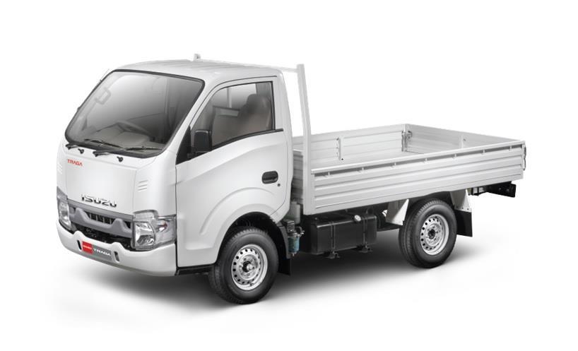 Isuzu Traga Open Cargo cocok untuk mengangkut galon air, sayur-sayuran dan lainnya