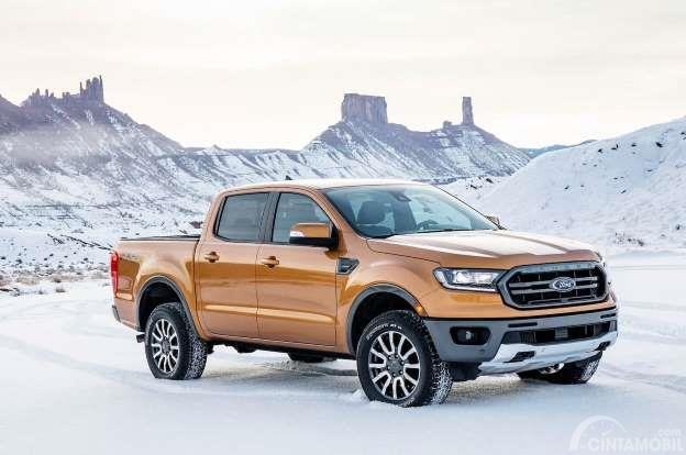Ford Ranger 2019 memiliki tampilan yang gagah serta maskulin