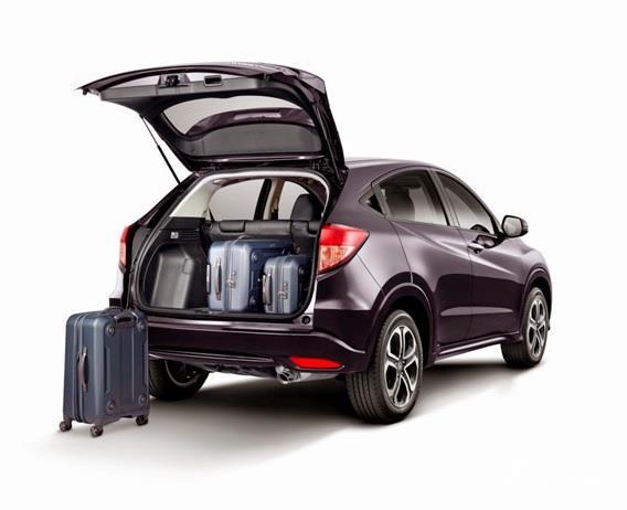 Honda HR-V E 2014 Dengan Bagasi Yang Luas