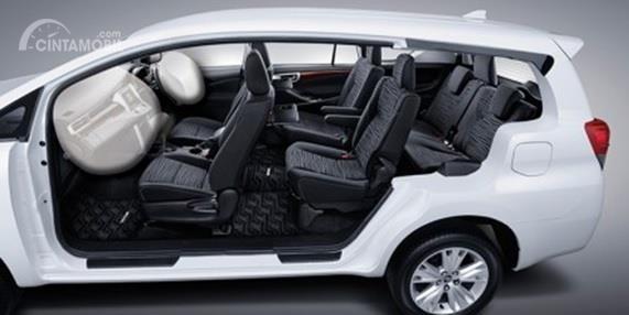 Toyota Kijang Innova 2017 Memiliki Kabin Yang Luas