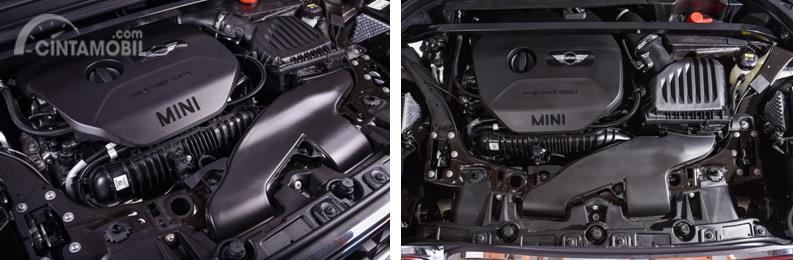 Mesin MINI Countryman Cooper dan Cooper S memiliki kapasitas sama namun memiliki tenaga dan akselerasi berbeda
