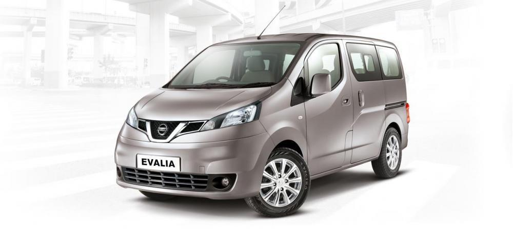 Eksterior Nissan Evalia 2014 MPV berbodi kotak